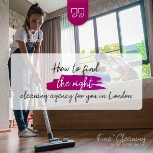 banner banner how to find the right cleaning agency in London