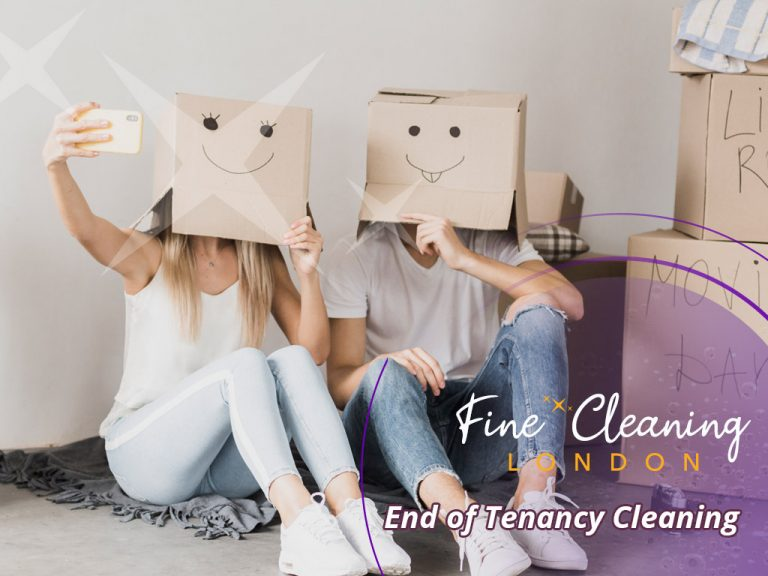 image of fine end of tenancy cleaning london