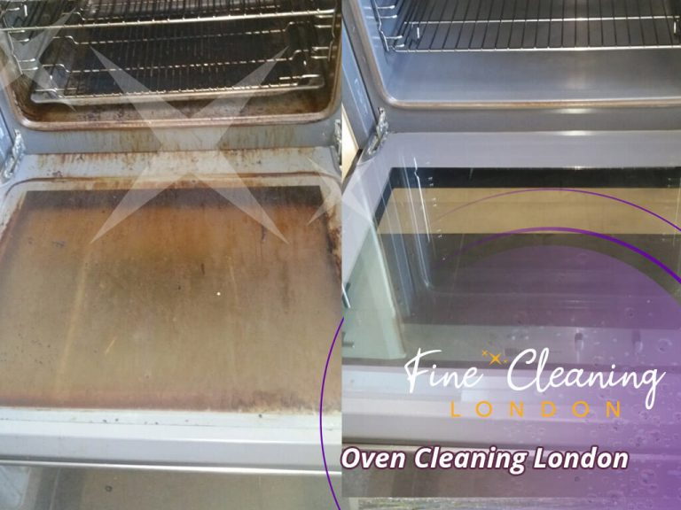 image of oven clean