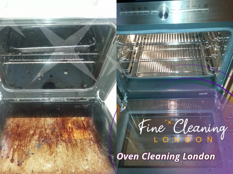 image of oven professional cleaning london