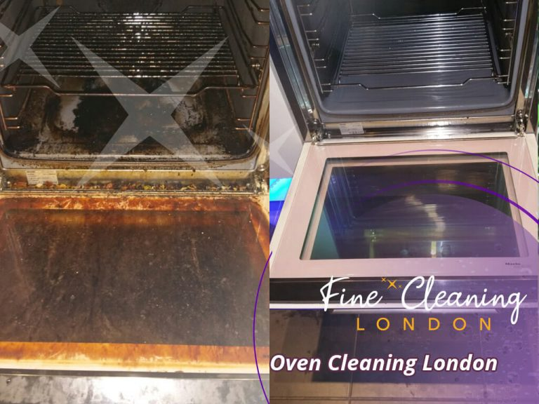 image of oven cleaning london